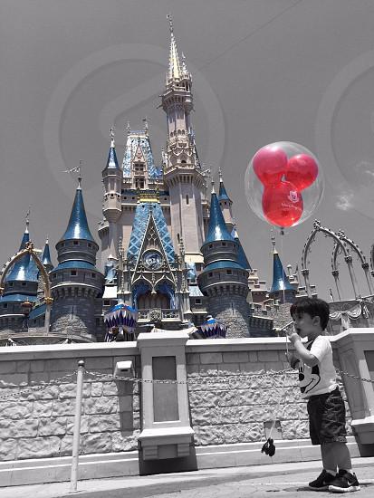 My nephew in Disney world. photo