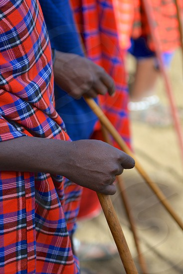 Hands of the Maasai - Africa photo