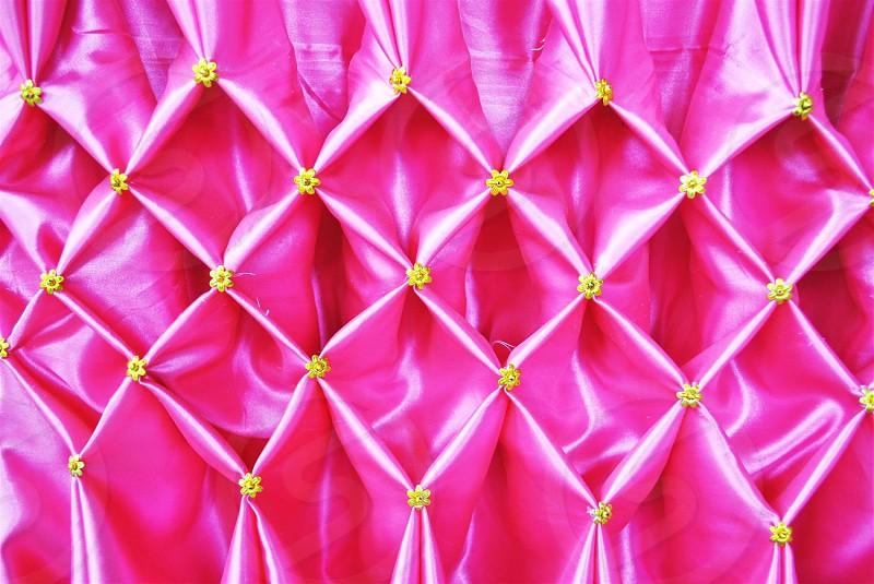 Thai silk fabric photo