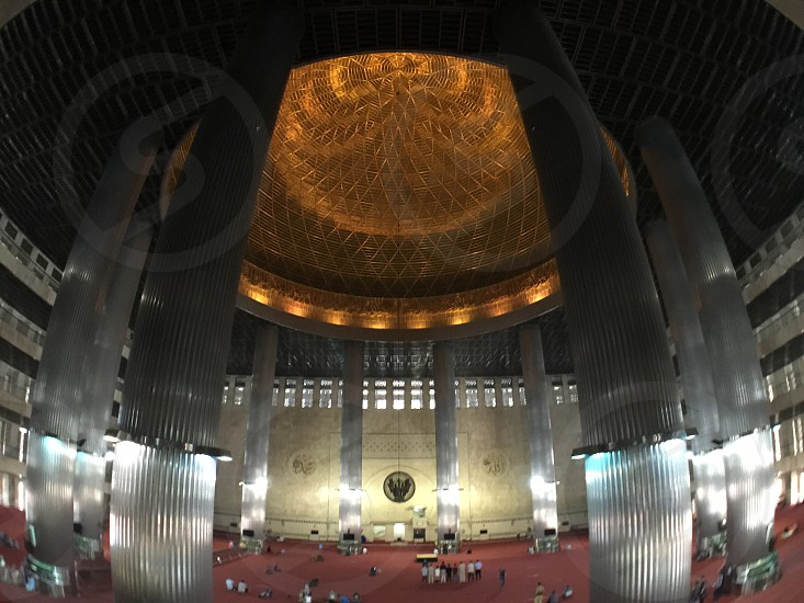 Istiqlal Mosque. Jakarta Indonesia photo