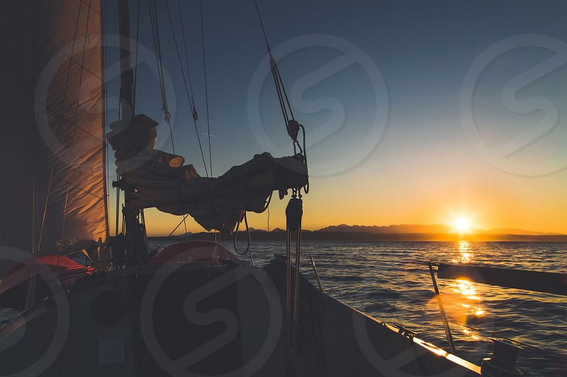 My first solo sail was both exhilarating and calming at the same time. Sailing is the best! photo