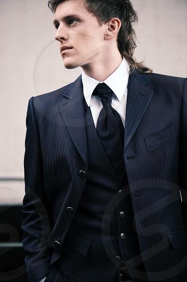 guy male model dress fashion style photo