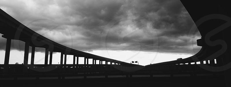 Bridge Clouds Storm photo