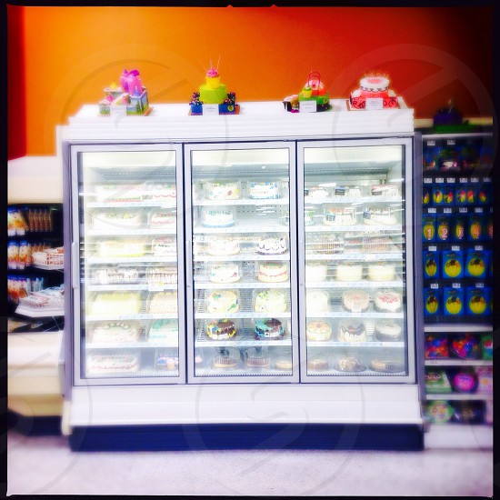 Ice cream cakes photo