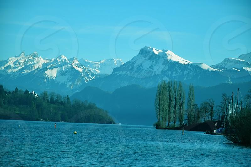 Luzern switerland nature love travel                photo