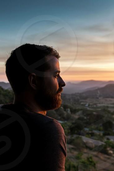 Escondido CA sunset photo