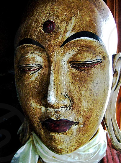 monk face painting photo