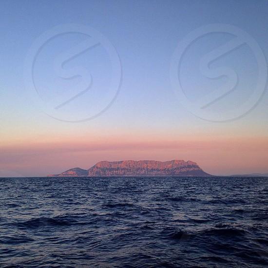 Tavolara sardegna  Olbia  Mediterranean Sea  Italy Italia  photo