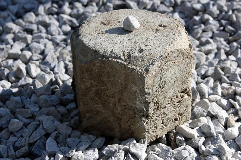cobble stone pebble small photo