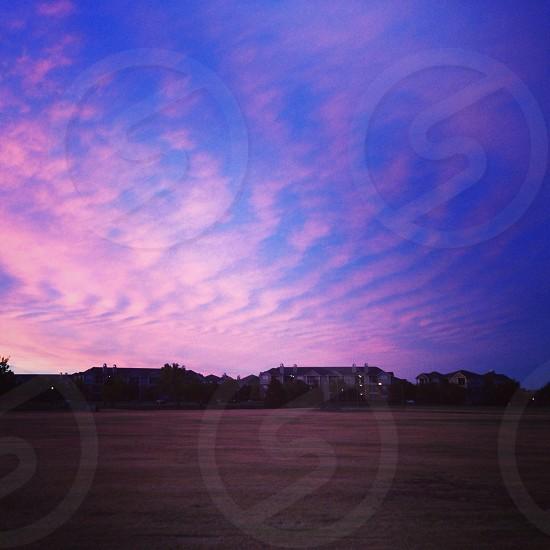 Oklahoma sunset photo