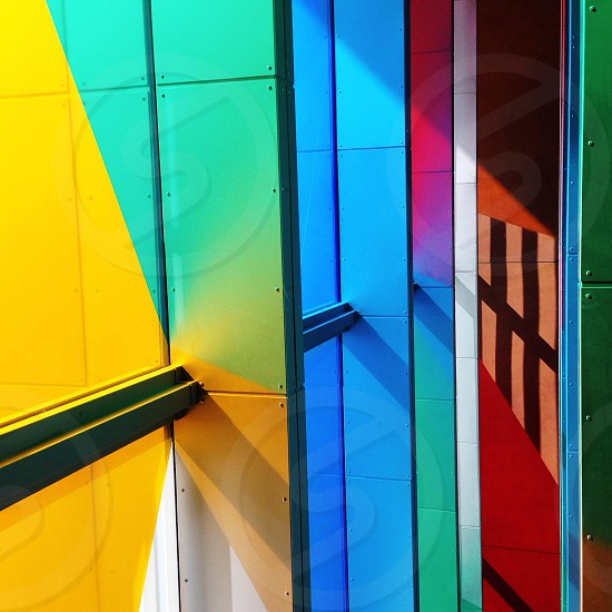 Daniel Buren @ Baltic Mill Gateshead UK photo