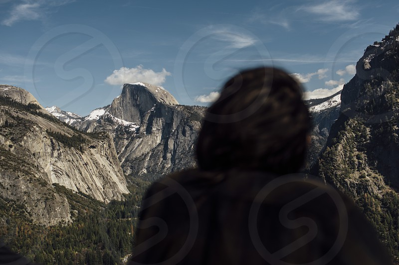 Yosemite National Park California viewpoint view hike mountain canyon sunny west coast half dome valley travel photo