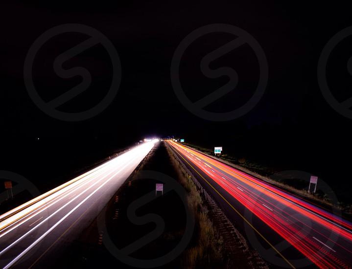 late night lights  photo