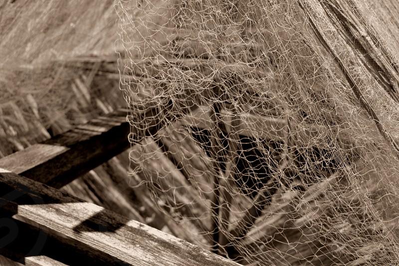 fishing nets design photo
