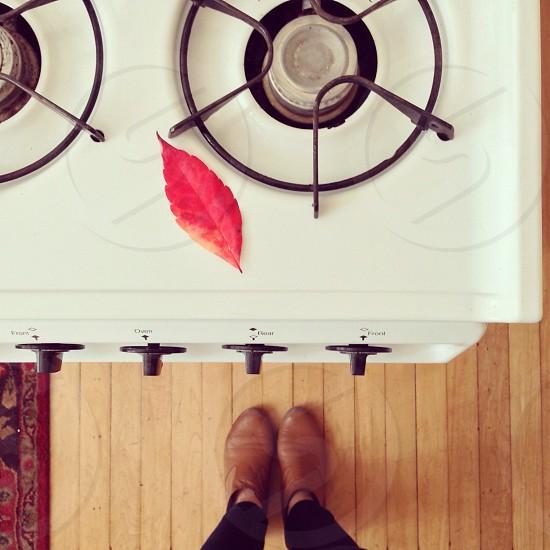 white stove photo