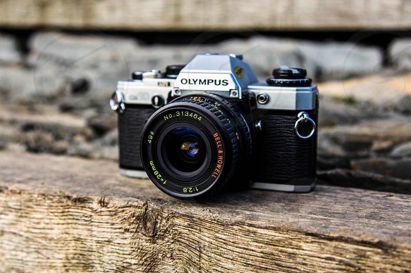 Olympus OM10 Film Camera Olympus Film Camera 28mm 35mm BellandHowell Old Camera Film Photography photo