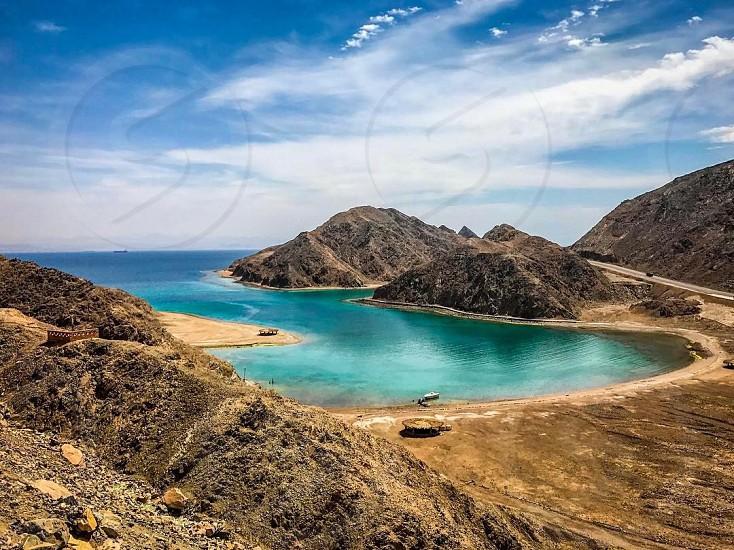 Fiord Bay Taba Egypt photo