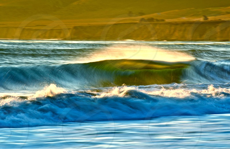 Evening Wave Central Ca photo