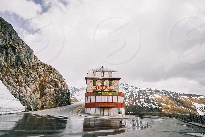 Rhone Hotel Belveder Furkapass Switzerland photo