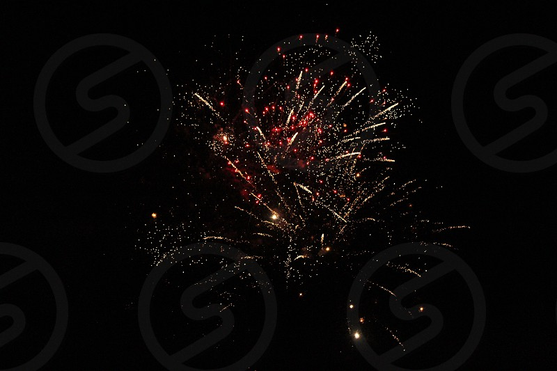 Fireworks in 4th of July  photo