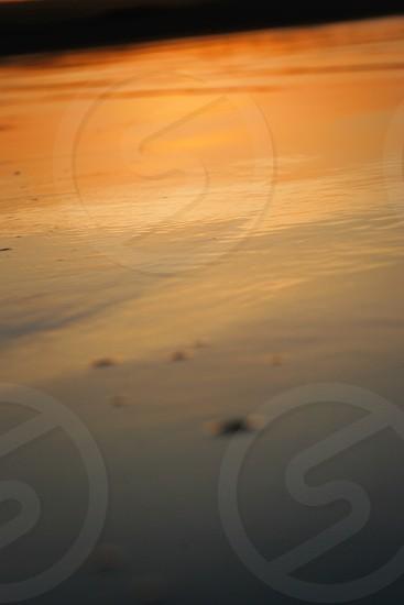 Coastal meets caribbean lifestyle sunset water sand beach photo