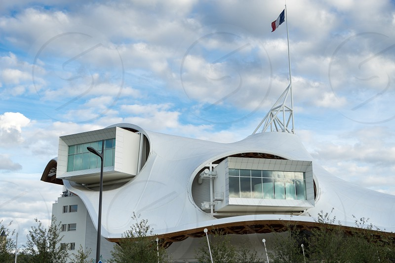 Pompidou Centre in Metz Lorraine Moselle France photo