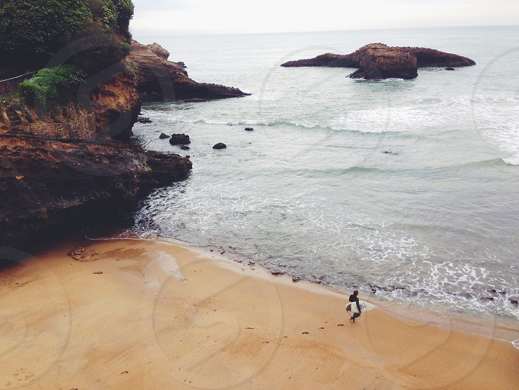 Biarritz France Surfing Beach Europe photo