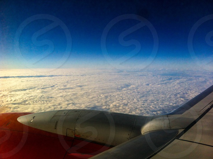 Brasil Airplane Sky Clouds  photo