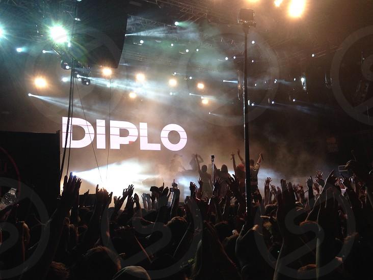 Diplo dance hands dj music photo