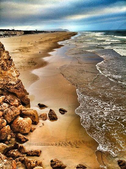 brown beach photo