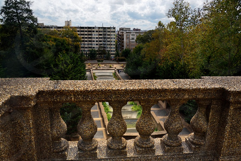 Meridian Hill Park in downtown Washington DC. photo