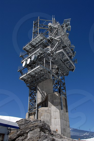 concrete tower photo