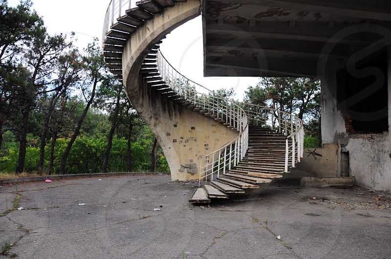 spiral staircase photograph photo