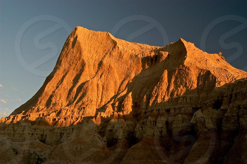Badlands. South Dakota. Sunrise. photo