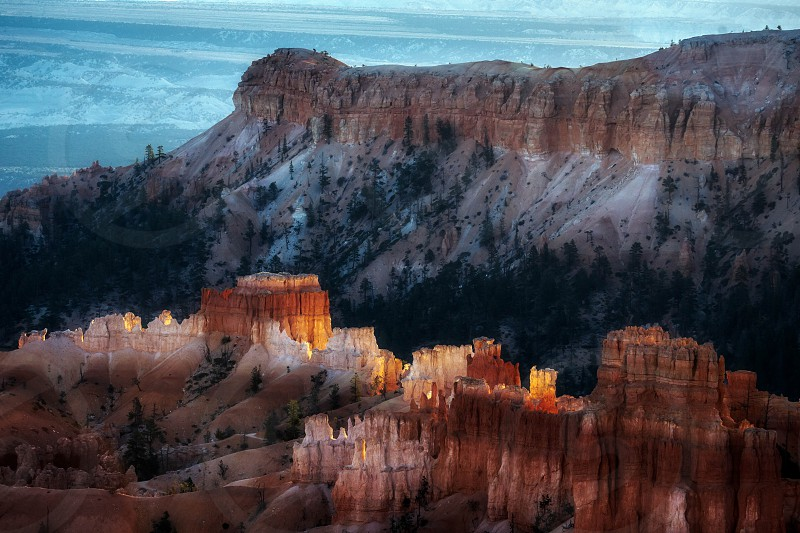 Bryce Canyon in November photo