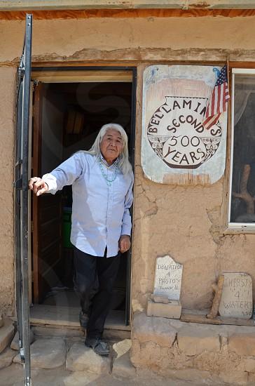 Acoma Pueblo Resident Since Birth. photo