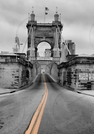 Cincinnati Ohio travel city cities roadstreet bridge photo
