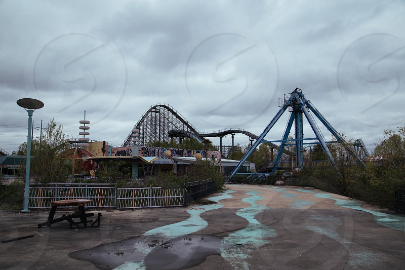 roller coaster photography photo