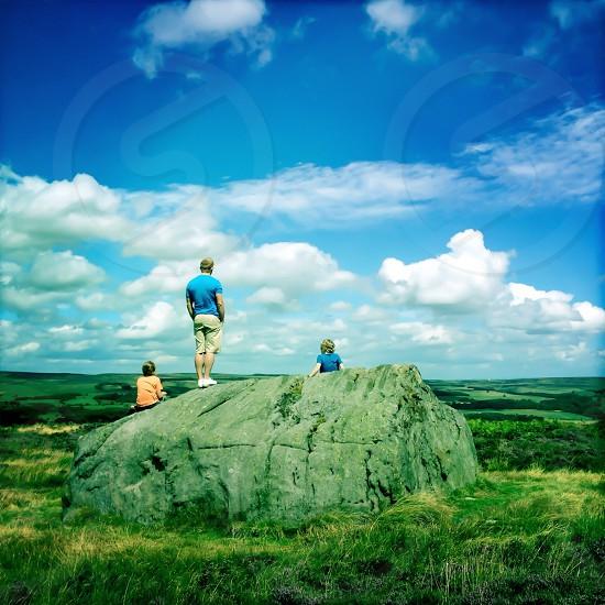 large grey rock photo