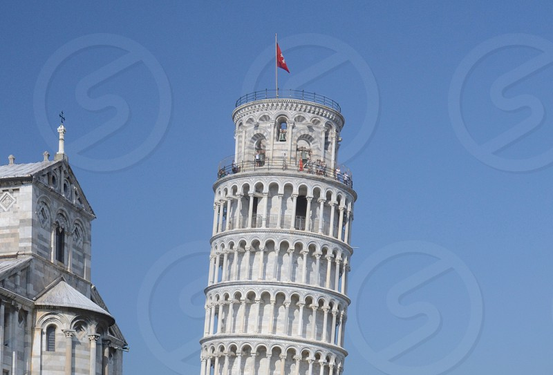 Pisa Tower Leaning  photo
