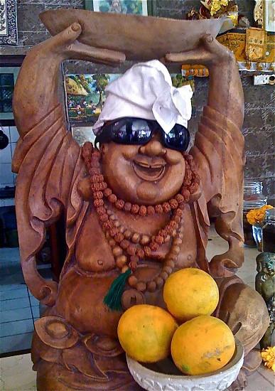 art culture welcome happy smiles fruit religion Bali humor photo