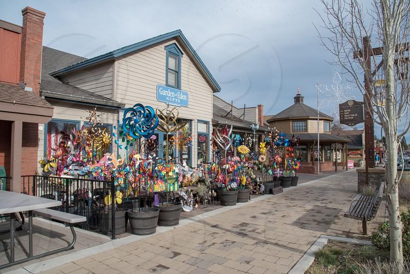 Garden of Eden Gift shop along main street in Sisters OR. photo