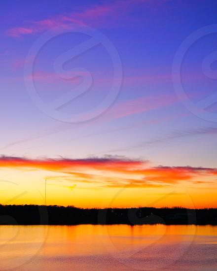 sunset cape cod sky photo