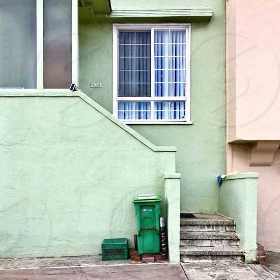 House trash bin  photo
