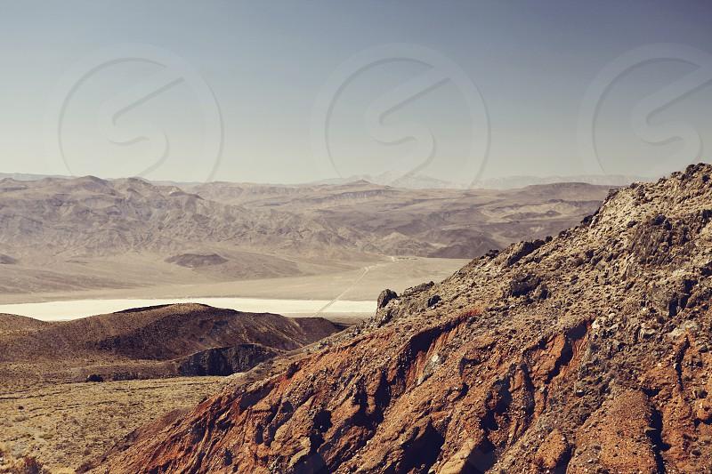 Death Valley National Park California Nevada Mojave Desert USA photo