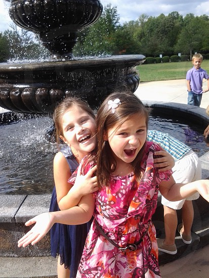 My beautiful daughter and her friend NC photo