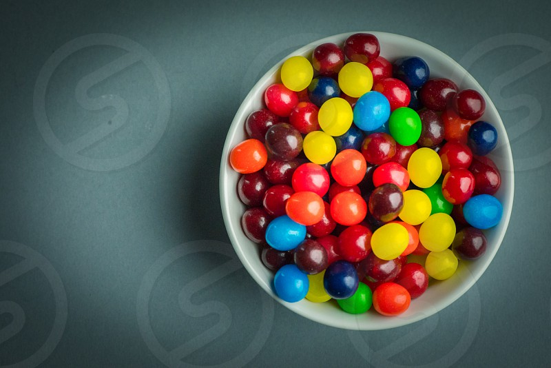 Candy in a bowl photo