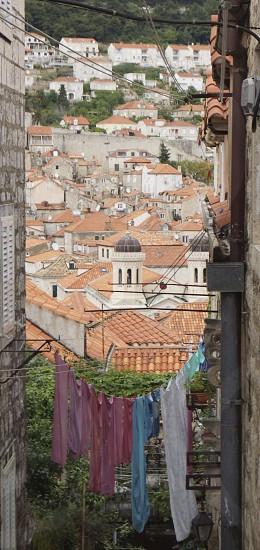 Dubrovnik alleyway photo