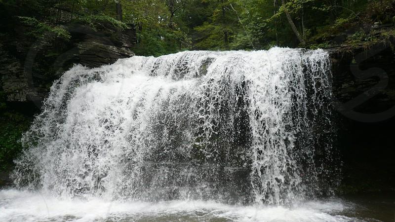 Waterfall NY photo