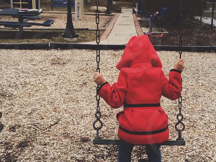 red hoody photo